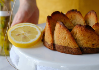 citronová-bananova bábovka