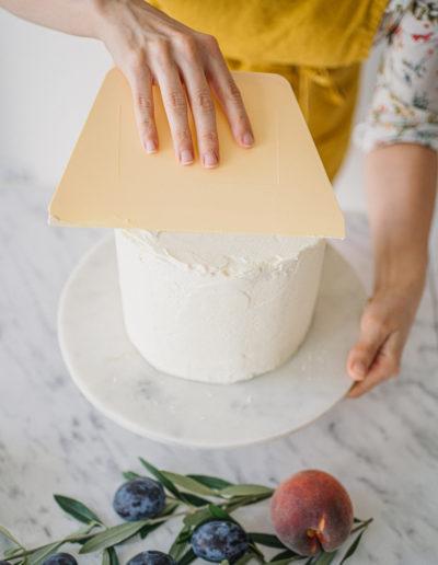 Zdravý dort s krémem ze sekyru