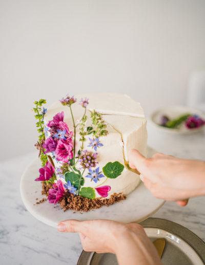 Perníkový odlehčený dort