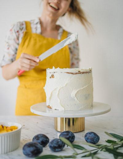 Odlehčený dort