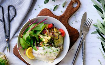 Pečená zelenina s pražmou
