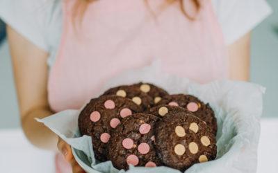 Hříšně čokoládové cookies