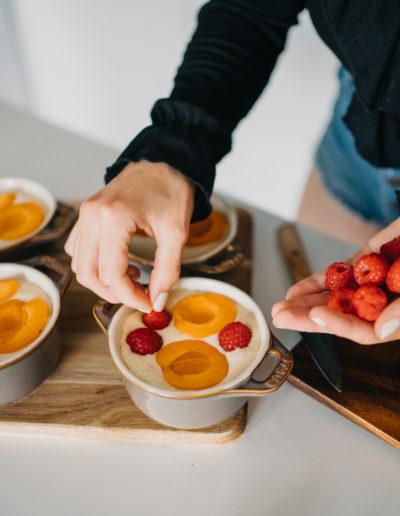 Ovoce v bublanině